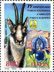 [The 75th Anniversary of the Abruzzo National Park, type BYM]