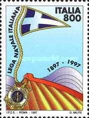[The 100th Anniversary of the Foundation of the Italian league NVY, type BYN]