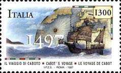 [The 500th Anniversary of John Cabot's Voyage, type BYV]