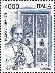 [The 100th Anniversary of the Birth of Pope Paul VI, type BZM]