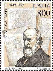 [The 100th Anniversary of the Death of Giovan Battista Cavalcaselle, type BZS]