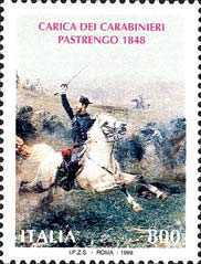 [The 150th Annniversary of the Battle of Pastrengo, type CAP]