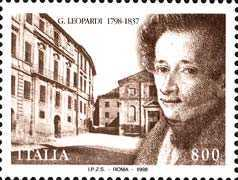 [The 200th Anniversary of the Death of Giacomo Leopardi, type CBC]