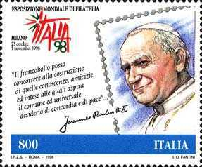 [World Stamp Exhibition, Milan - Stamps and Stamp Collectors' Day, type CBQ]