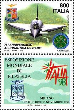[World Stamp Exhibition, Milan - Armed Forces Day, type CBR]