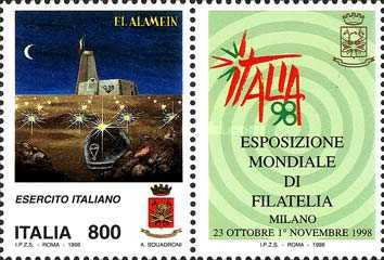 [World Stamp Exhibition, Milan - Armed Forces Day, type CBT]
