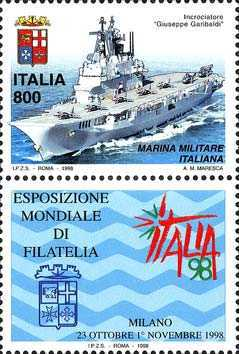 [World Stamp Exhibition, Milan - Armed Forces Day, type CBU]