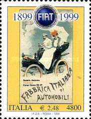 [The 100th Anniversary of the Foundation of the Fiat, Typ CDN]