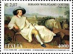 [The 250th Anniversary of the Birth of Johann Wolfgang Goethe, Typ CDR]