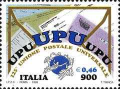 [The 125th Anniversary of the Universal Postal Union, Typ CDX]