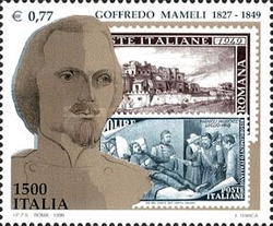 [The 150th Anniversary of the Death of Goffredo Mameli, Typ CDY]