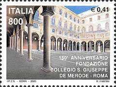 [The 150th Anniversary of St. Joseph College, Rome, type CFK]