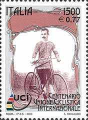 [The 100th Anniversary of the International Cycling Union, type CFL]