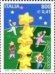 [EUROPA Stamps - Tower of 6 Stars, type CFU]