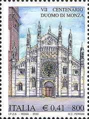 [The 700th Anniversary of the Building of the Cathedral of Monza, type CFY]