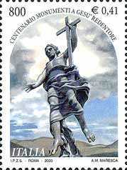 [The 100th Anniversary of the Jesus the Redeemer Monument, type CGA]