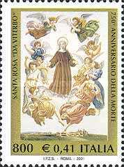 [The 750th Anniversary of the Death of St. Rose of Viterbo, Typ CHN]