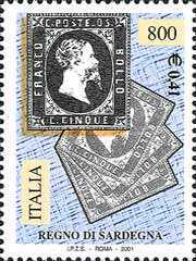 [The 150th Anniversary of Lombardy and Venetia, Sardinian and Tuscan First Stamps, Typ CHR]