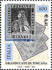 [The 150th Anniversary of Lombardy and Venetia, Sardinian and Tuscan First Stamps, Typ CHS]