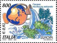 [EUROPA Stamps - Water, Treasure of Nature, Typ CIE]