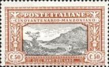 [The 50th Anniversary of the Death of Manzoni, type CJ]