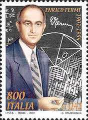 [The 100th Anniversary of the Birth of Enrico Fermi, Typ CJD]