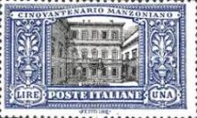 [The 50th Anniversary of the Death of Manzoni, type CK]