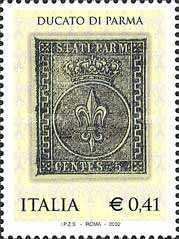 [The 150th Anniversary of the First Stamps of the Duchy of Parma, Typ CKQ]