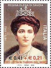 [The 50th Anniversary of the Death of the Queen Elena of Savoy, Typ CKX]