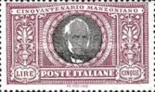 [The 50th Anniversary of the Death of Manzoni, type CL]