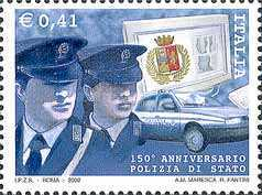[The 150th Anniversary of the Italian Police, Typ CLE]