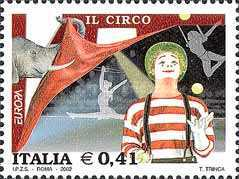 [EUROPA Stamps - The Circus, Typ CLH]