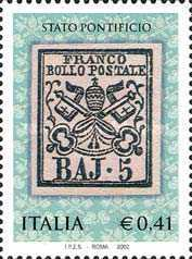 [The 150th Anniversary of First Stamps Roman Stamps, Typ CMK]