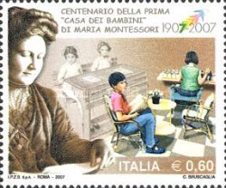 [The 100th Anniversary of the Inauguration of the First House of Children, Designed by Maria Montessori, Typ CYB]