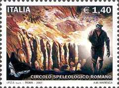 [The 103th Anniversary of the Club Speleological Roman, Typ CZV]