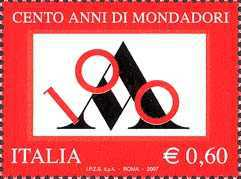 [The 100th Anniversary of the Founding of the Publishing House Mondadori, Typ DAM]