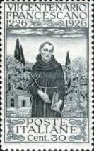 [The 700th Anniversary of the Death of St. Francis of Assisi, type DB]