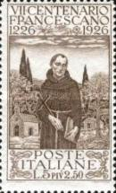 [The 700th Anniversary of the Death of St. Francis of Assisi, type DB1]
