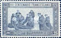 [The 700th Anniversary of the Death of St. Francis of Assisi, type DE]