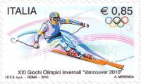 [Olympic Games - Vancouver, Canada. Self Adhesive, Typ DGE]