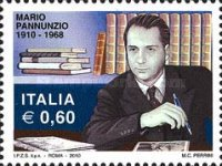[The 100th Anniversary of the Birth of Mario Pannunzio, 1910-1968, Typ DGJ]