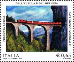 [The 100th Anniversary of the Bernina-Albula Railway, Typ DGU]