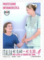 [Nursing - Charity Stamp. Self Adhesive, Typ DGX]