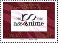 [The 100th Anniversary of the Founding of Assonime, type DHG]