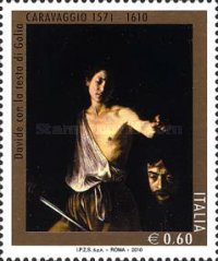 [The 400th Anniversary of the Death of Caravaggio, 1571-1610, Typ DHL]