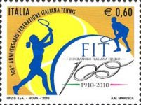 [The 100th Anniversary of the Italian Tennis Federation, Typ DIA]