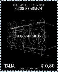 [The 40th Anniversary of the Founding of Giorgio Armani S.p.A., Typ DVW]