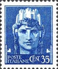 [Definitives - Serie Imperiale, Typ DX1]