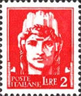 [Definitives - Serie Imperiale, Typ DX2]