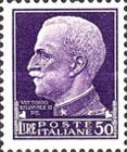[Definitives - Serie Imperiale, Typ DX4]